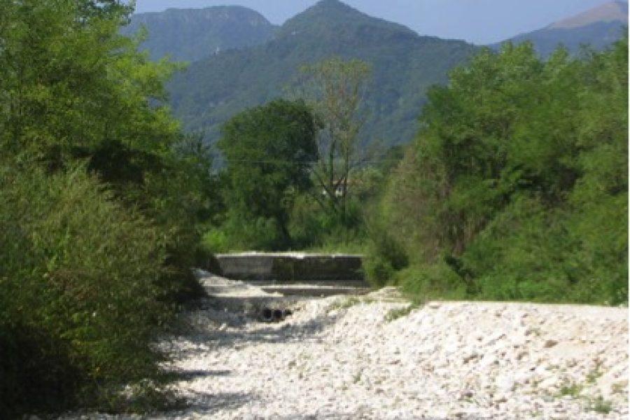 Nuovi interventi di sistemazione idraulica sui torrenti Ornic e Calcino ad Alano di Piave
