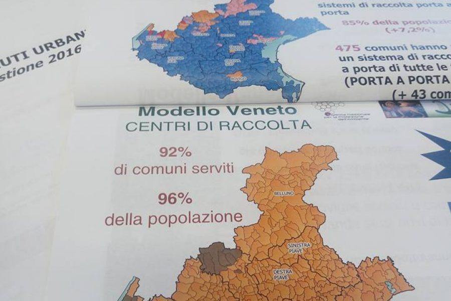 Veneto ancora leader nella gestione dei rifiuti: un sistema che realizza l'economia circolare
