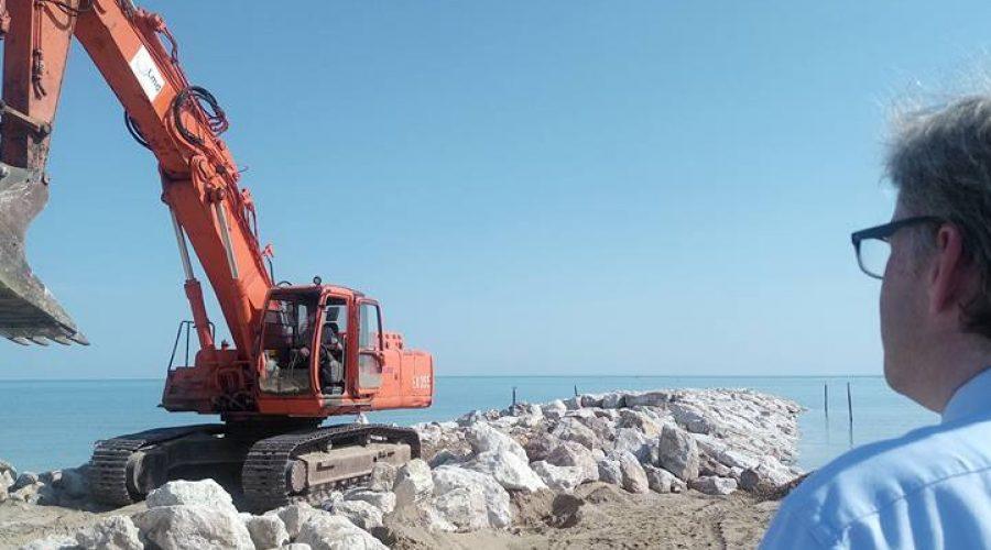A febbraio il via ai lavori sul litorale di Jesolo