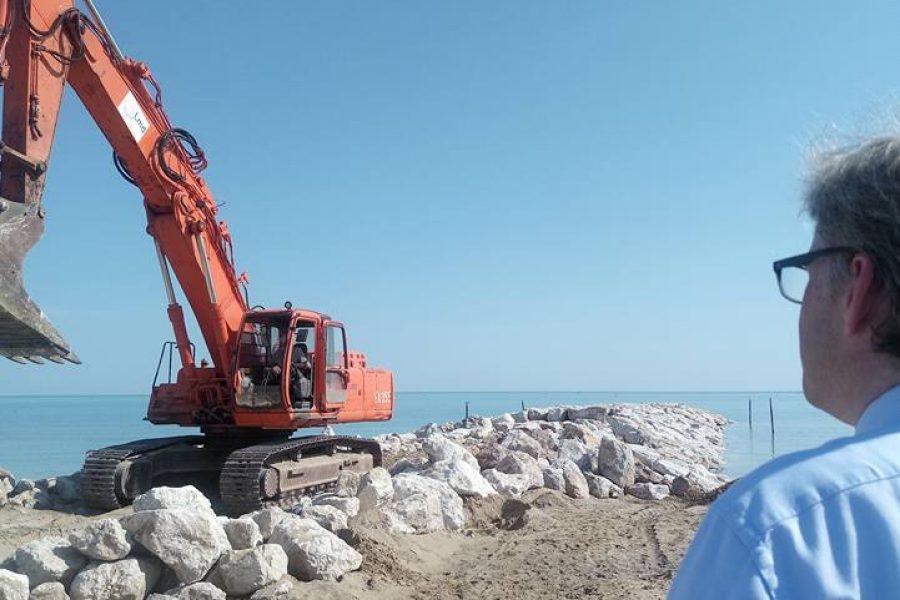 La Regione continua ad investire nella difesa delle spiagge  : quasi 3 milioni di euro stanziati per il 2018