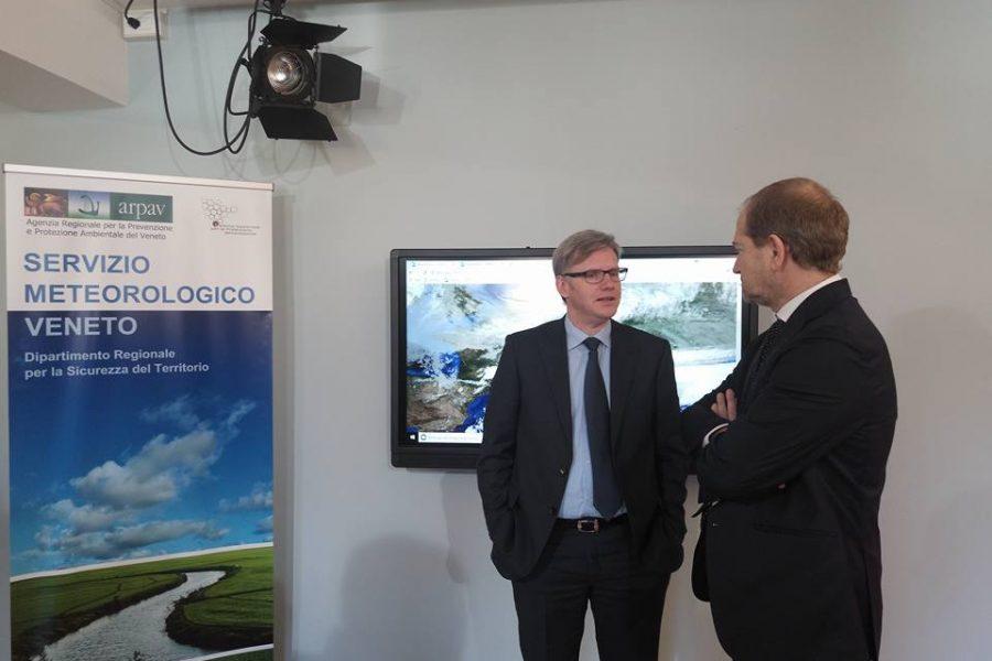 Attiva la nuova sala previsioni meteo del Centro Meteorologico di Teolo. In arrivo anche un nuovo radar mobile sul Monte Rite