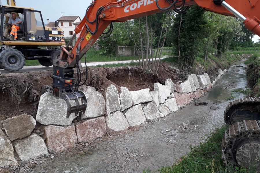 Conclusi i lavori di manutenzione idraulica straordinaria del torrente Curogna