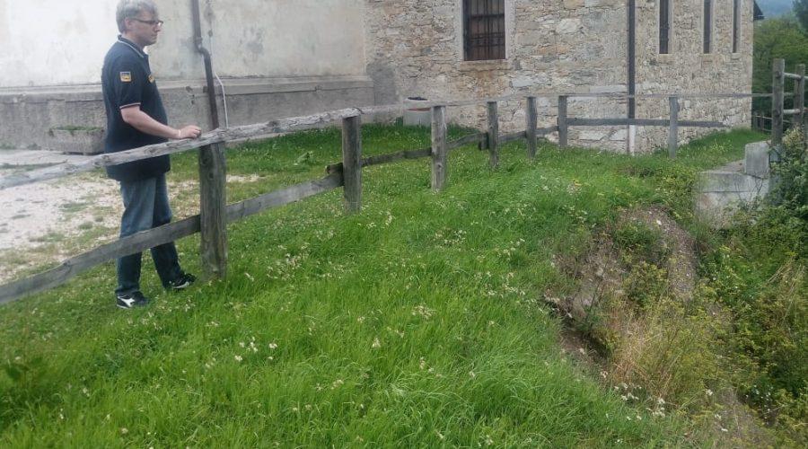 Finanziato monitoraggio della chiesa di San Martino a Valle di Cadore