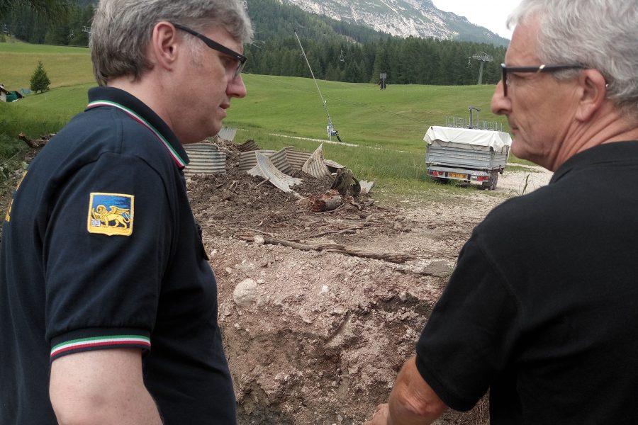 """Ripristino strada Mortisa a Cortina. Bottacin: """"stiamo collaborando per accelerare l'intervento"""""""