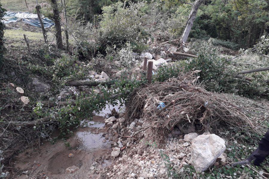 Completata la nuova scogliera a Sarmede a protezione del rio Valon Spesse
