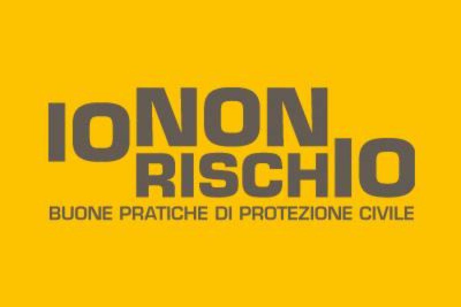 """""""IO NON RISCHIO"""", la campagna nazionale per le buone pratiche di protezione civile domani e dopodomani anche nelle piazze del Veneto."""