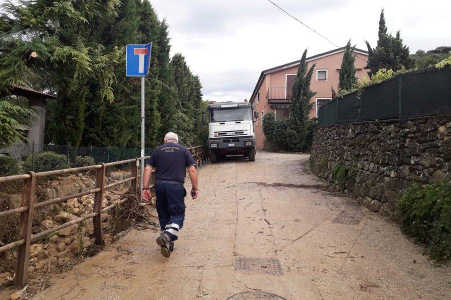 Maltempo a Verona. Le immagini