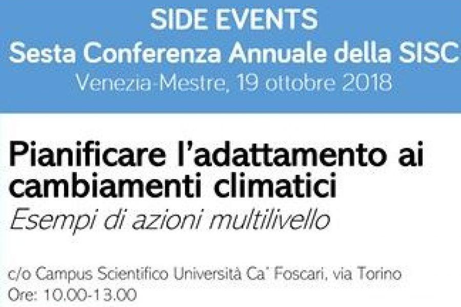 Come pianificare l'adattamento ai cambiamenti climatici. Venerdì 19 ottobre la possibilità di approfondire la materia in un convegno a Mestre