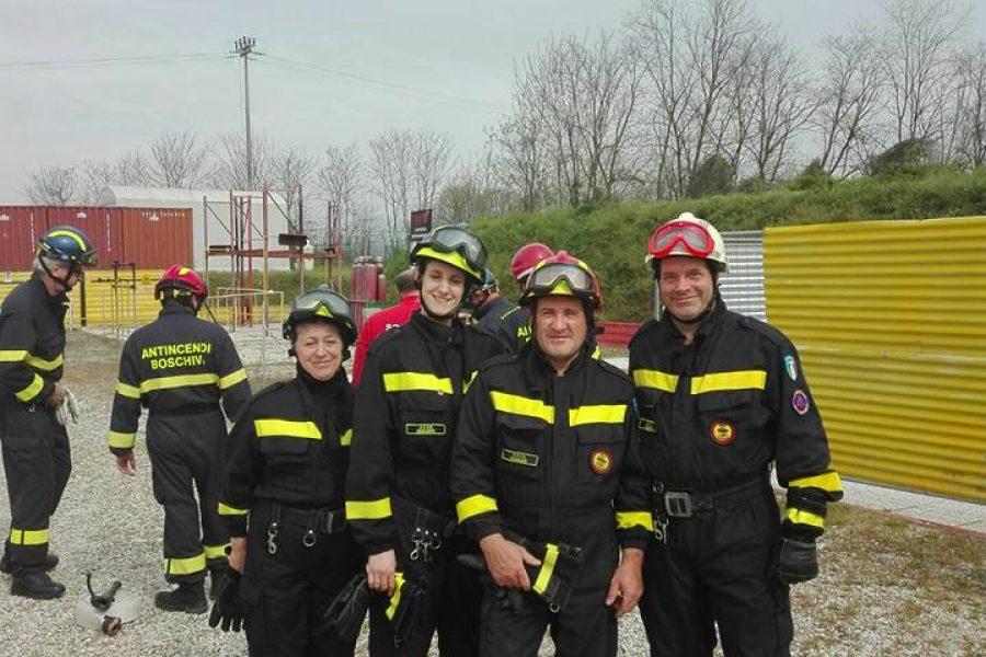 Si festeggia il 40° anniversario dell'Associazione Volontari Antincendio Boschivo di Segusino