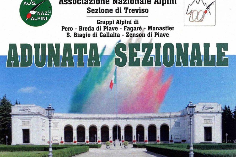 Sabato e domenica l'Adunata Alpina di Treviso in un luogo simbolo: il Sacrario Militare di Fagarè