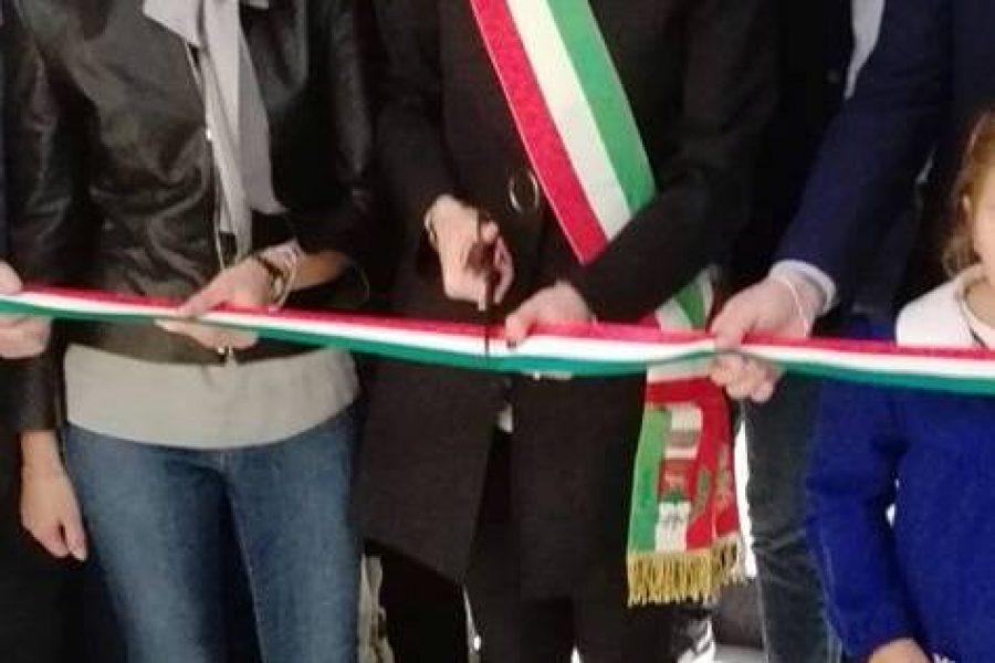 Il ministro Bussetti e il presidente Zaia per il taglio del nastro alle Scuole di Miane dopo i lavori di ristrutturazione e adeguamento sismico