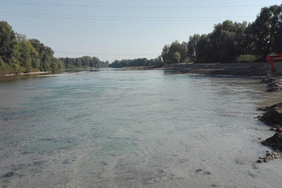 Verso la conclusione la seconda fase dei lavori per migliorare il deflusso del Piave nei territori di Ponte di Piave e San Biagio di Callalta