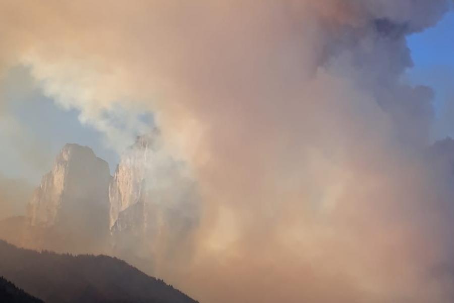 ARPAV monitora la qualità dell'aria post incendio