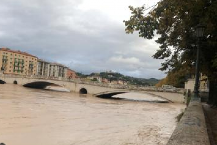 Colmo di piena previsto alle 10 su Adige e Piave