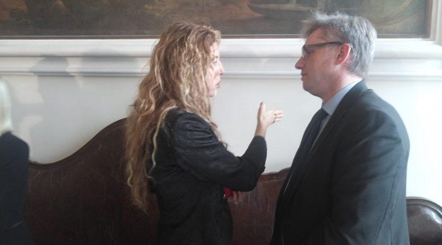 Incontro con il Ministro Stefani