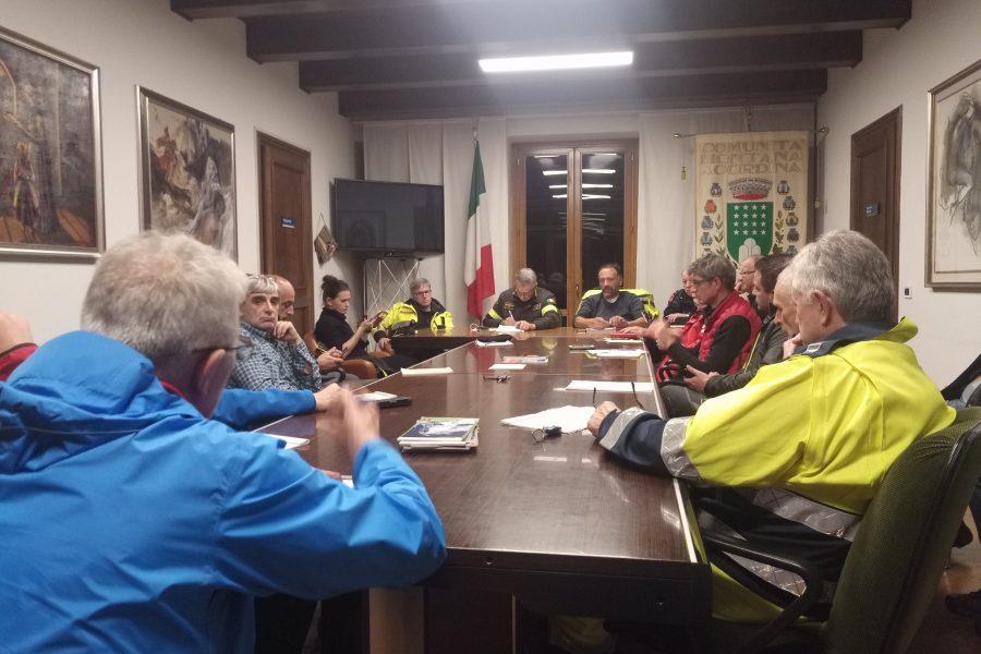 L'unità di Crisi sul territorio per informare le amministrazioni sul post emergenza.