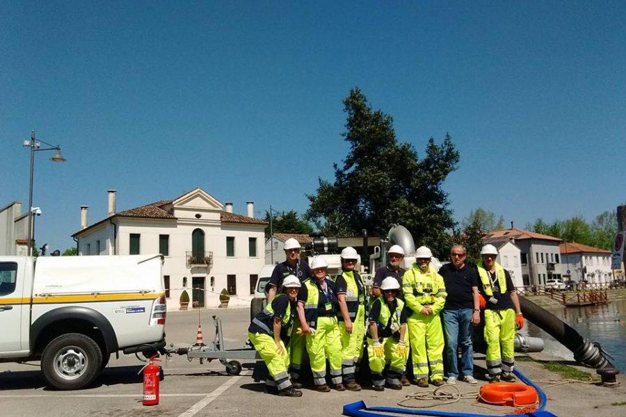 Il Premio Ozanam all'Associazione Volontari Protezione Civile di Roncade