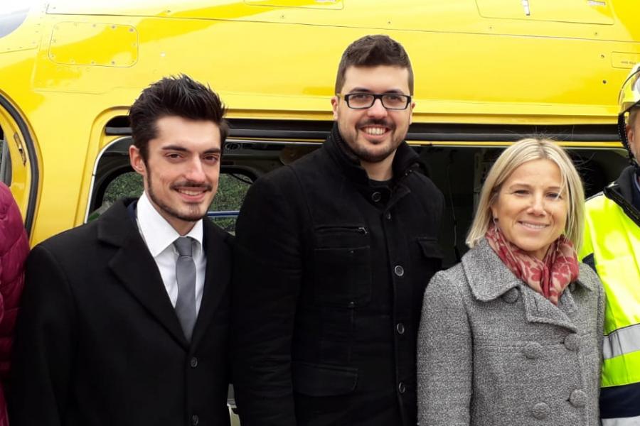 """Dopo il maltempo è tornata """"Scuola Sicura Veneto"""". La tappa di Marostica"""