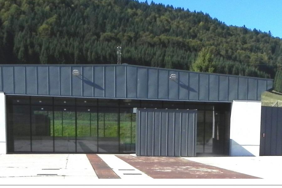 Inaugurazione dell'hangar del Cansiglio