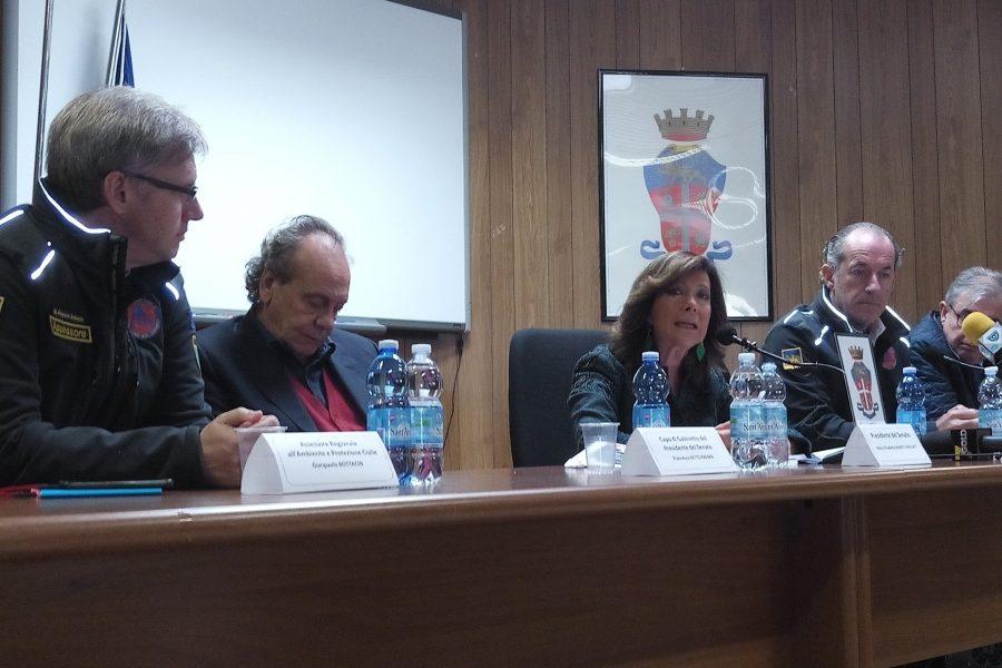 """""""Popolo veneto gente encomiabile"""". La presidente del Senato Alberti Casellati a Belluno"""
