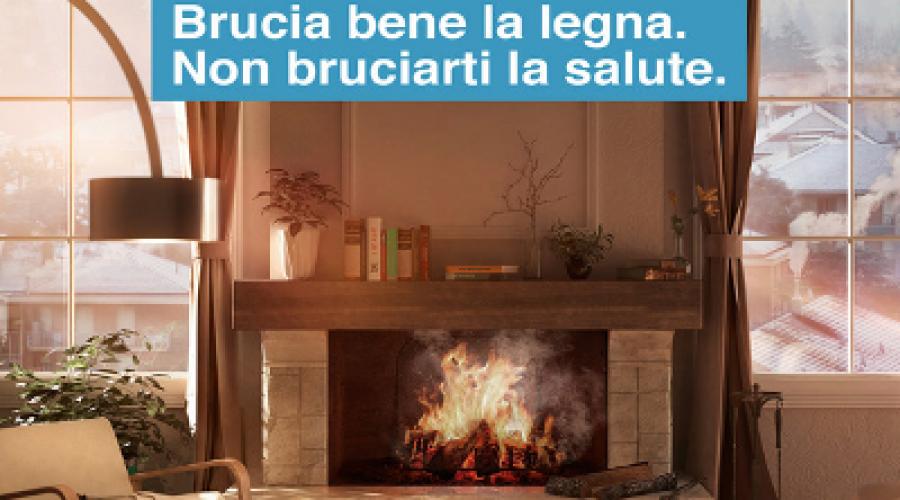 """Al via la campagna """"Brucia bene la legna, non bruciarti la salute"""""""