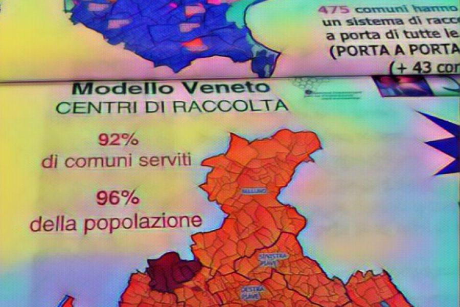 Veneto leader indiscutibile nella raccolta differenziata