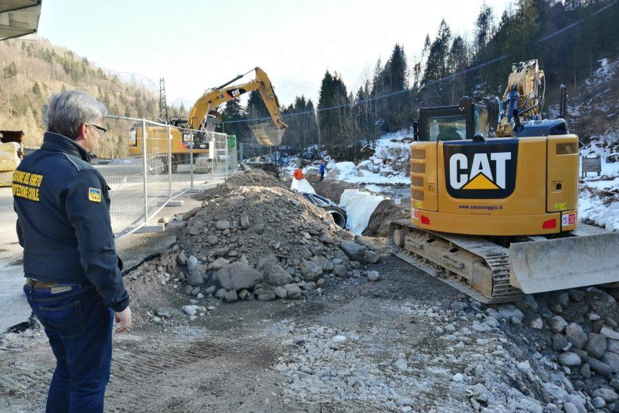"Bottacin in visita ai cantieri sul Cordevole.   ""Tanti interventi per svariati milioni di euro"""