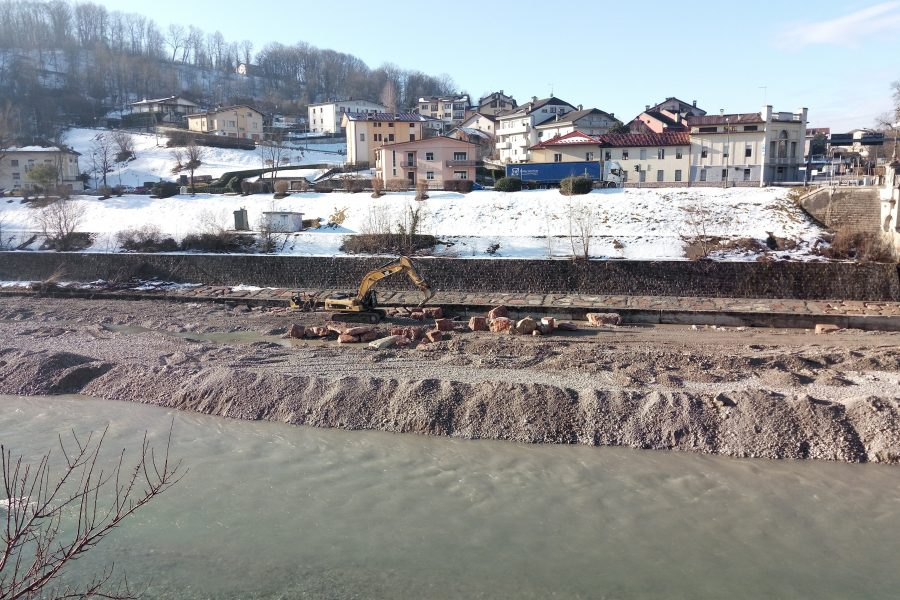 Interventi sul Piave nell'area di Lambioi per 1,4 milioni di euro