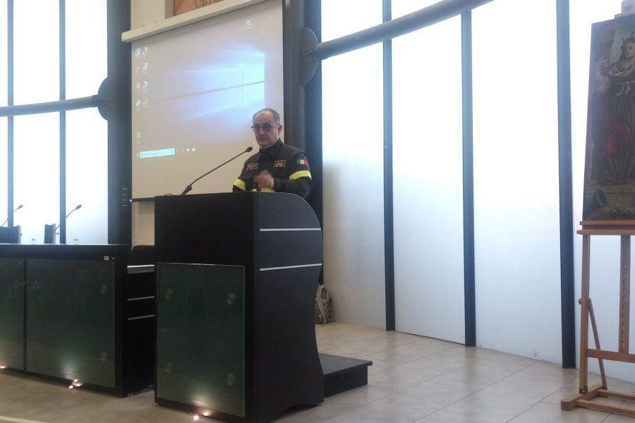 """Gestione rifiuti. Bottacin al seminario Dei Vigili del Fuoco: """"Le infiltrazioni mafiose vanno annientate"""""""