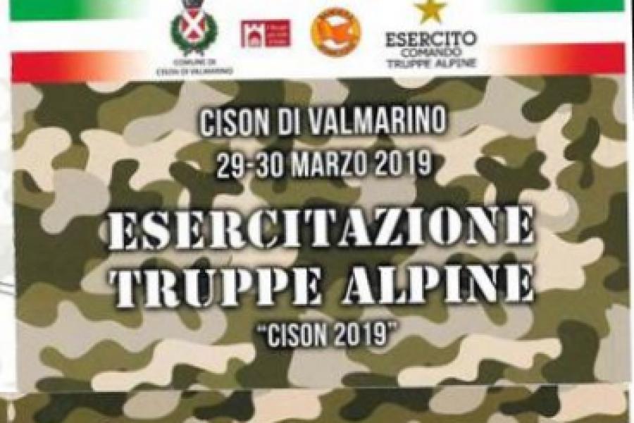 Esercitazione Truppe Alpine Cison 2019