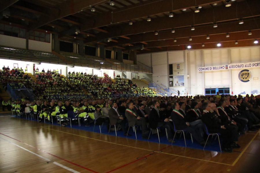 L'abbraccio del Veneto ai suoi volontari di Protezione Civile