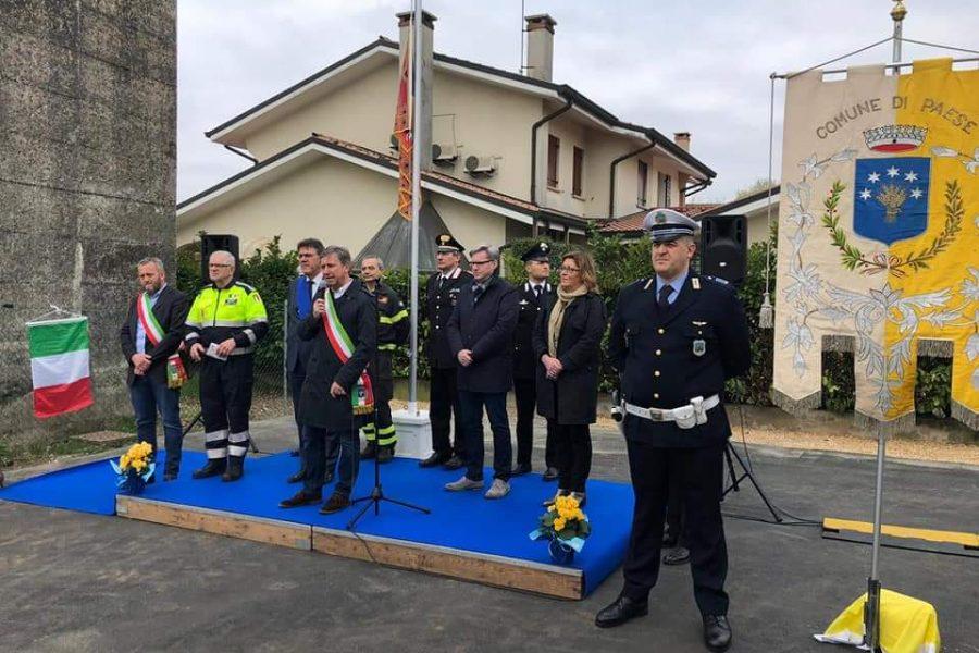 Inaugurata la nuova sede di Protezione Civile e C.O.C. di Paese (TV)