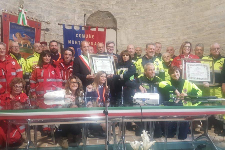 Il paese di Montemonaco (AP) assegna la cittadinanza onoraria alla Regione Veneto