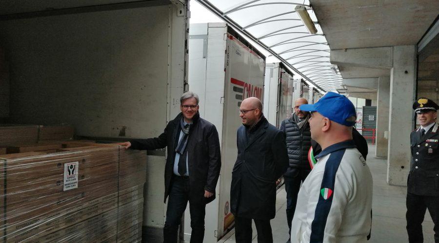 """Venti camion di materiali per oltre 120mila di valore donati da """"Cancro Primo Aiuto"""" alle popolazioni colpite da Vaia"""