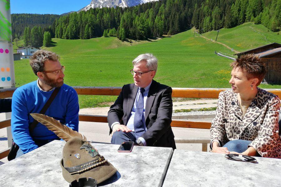 Avviata l'organizzazione dei campionatidi sci della Protezione Civile 2020