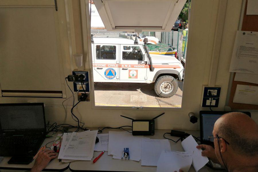 Sopralluogo agli interventi della Protezione Civile in Agordino