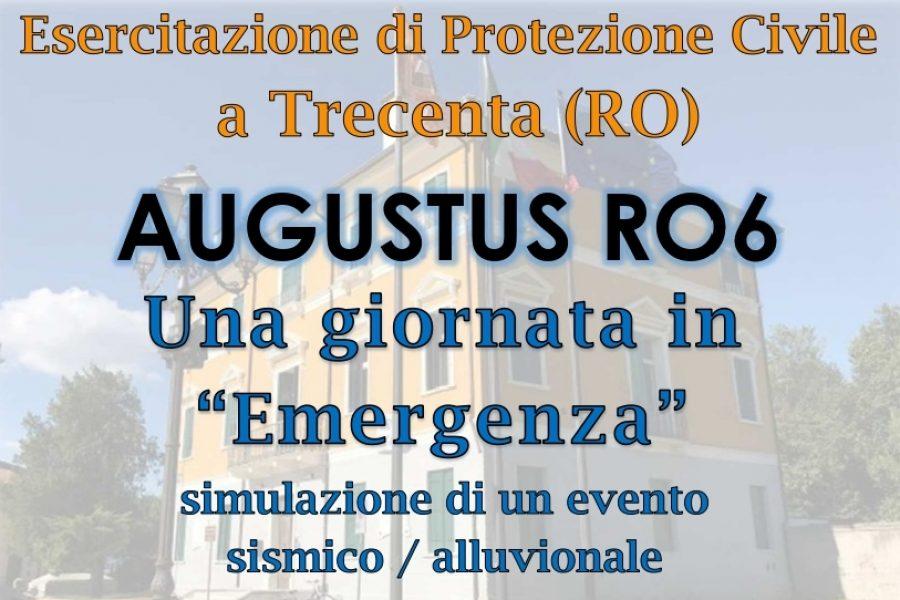 Grande esercitazione di Protezione Civile a Trecenta (RO)