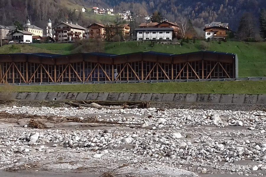 Al via i lavori in località Valcozzena in Comune di Agordo