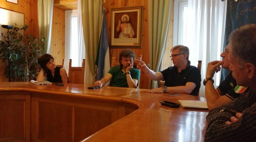 Riunione a Rocca Pietore e nuovi sopralluoghi in Agordino