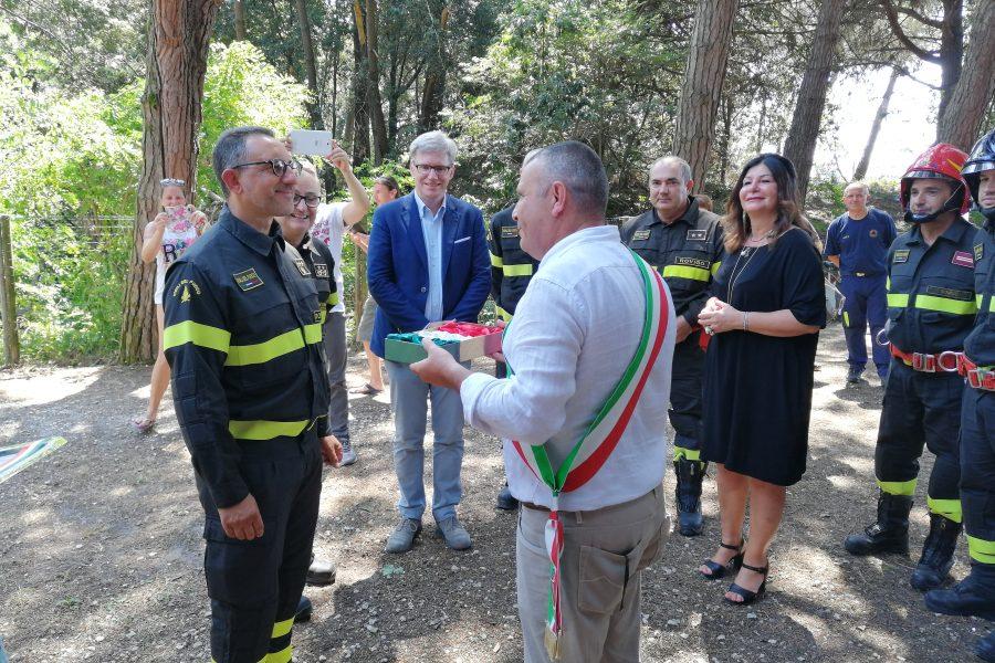 Inaugurata la sede estiva dei Vigili del Fuoco a Rosolina.