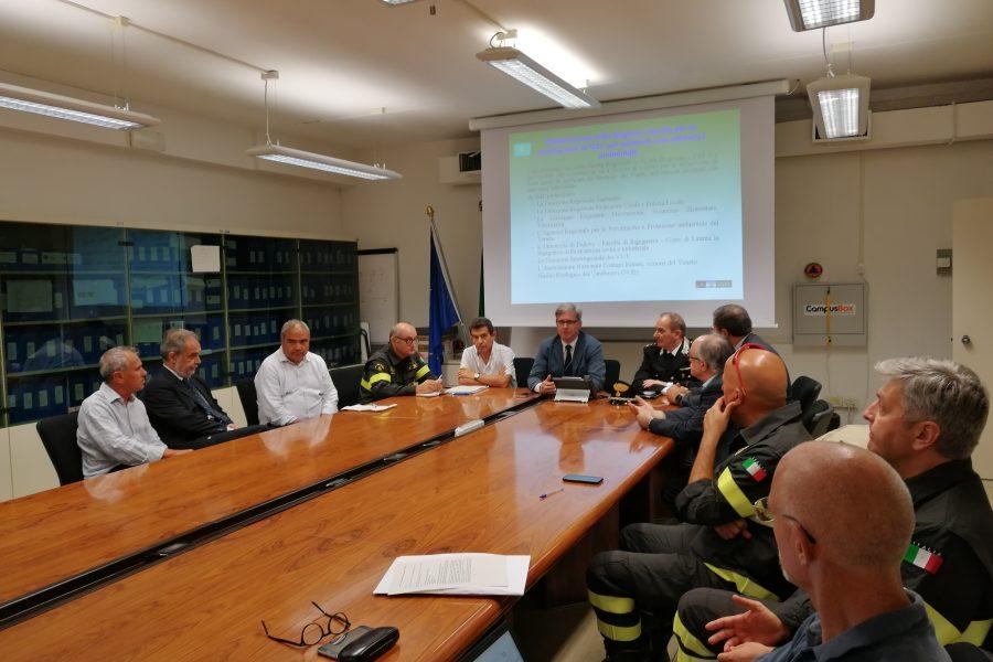 Il lavoro del tavolo sulle misure antincendio negli impianti di rifiuti
