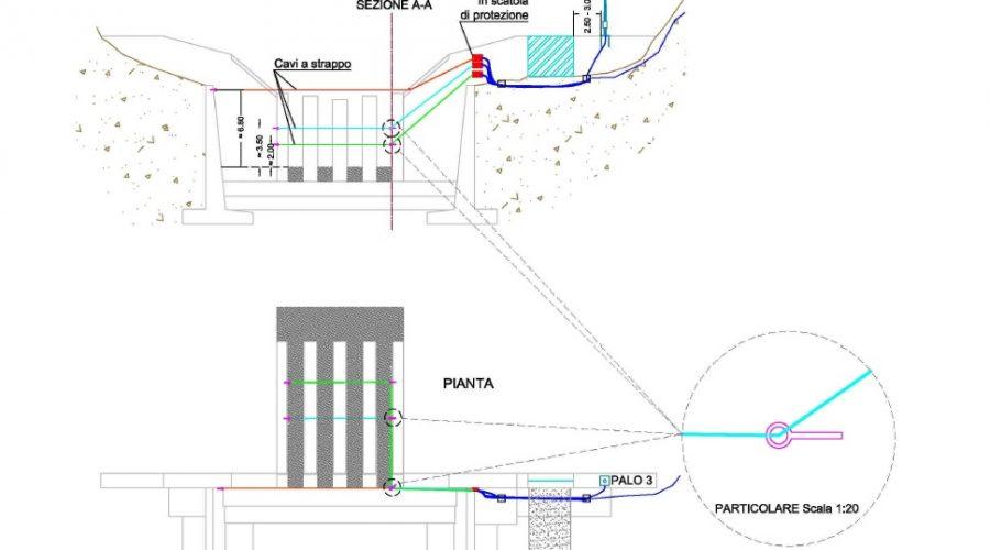 Avviata l'installazione dell'impianto di monitoraggio e allarme sul Rudan a Vodo di Cadore