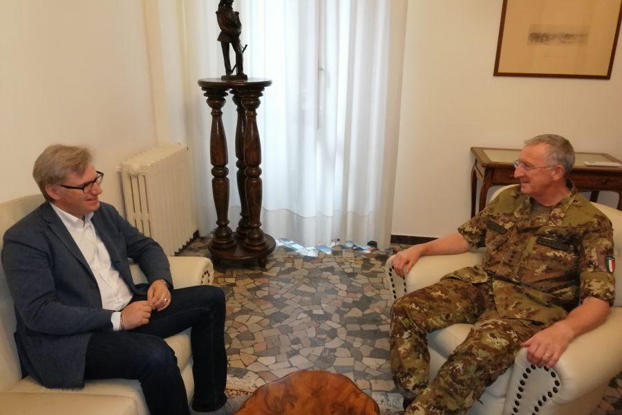 Incontro a Padova presso il Comando Forze Operative Nord. Allo studio sinergie per rafforzare il sistema di Protezione Civile