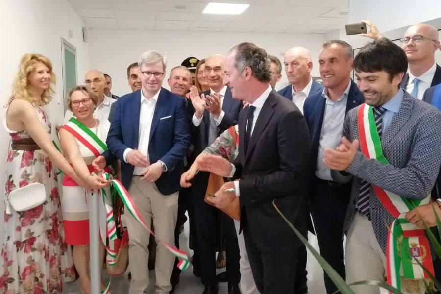 Zaia inaugura il nuovo pronto soccorso di Feltre