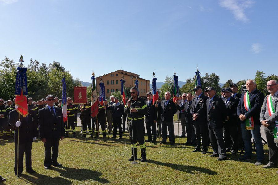 A Belluno inaugurato il monumento dedicato ai Vigili del Fuoco
