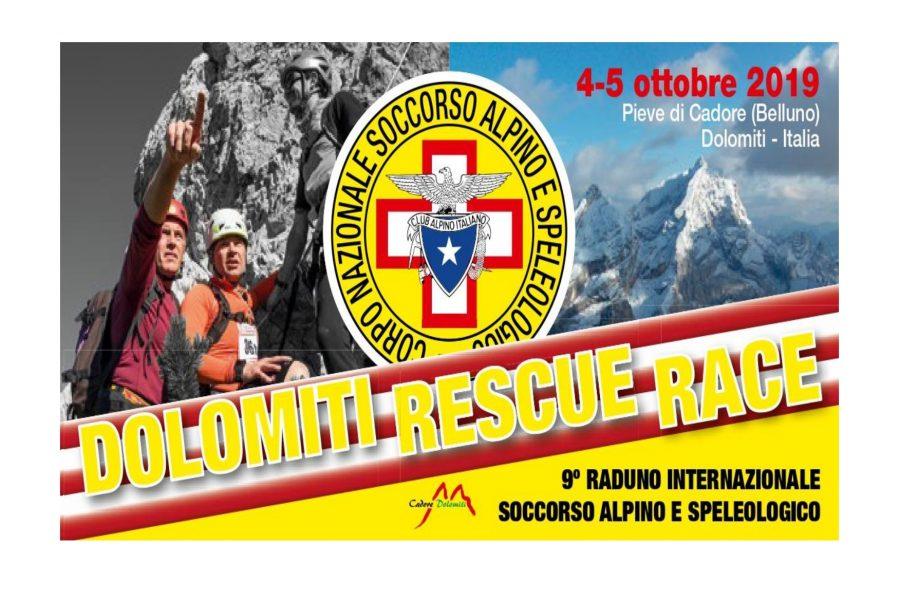 A Pieve di Cadore la Dolomiti RescueRace organizzata dal Soccorso Alpino e Speleologico