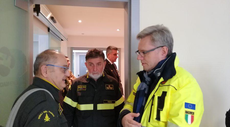 Dalla Regione 150mila euro ai distaccamenti dei Vigili del Fuoco