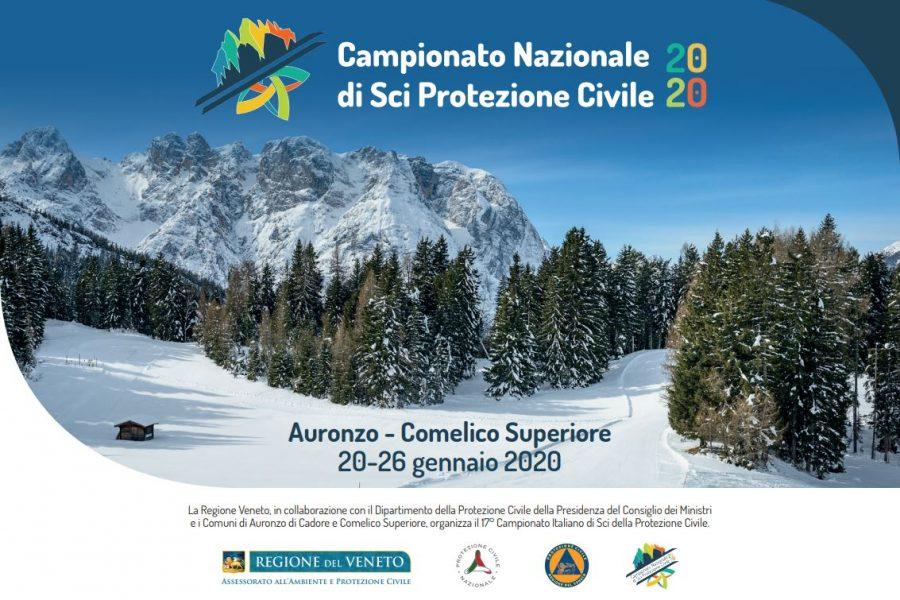 dal 20 al 26 gennaio in Comelico e Auronzo il Campionato nazionale di sci della Protezione Civile