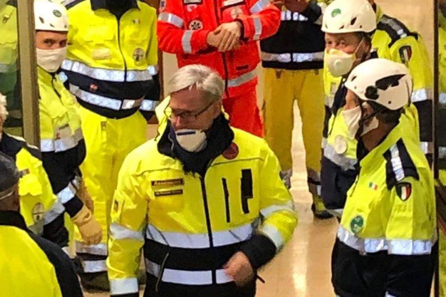 2400 squadre di volontari di Protezione Civile in campo in Veneto