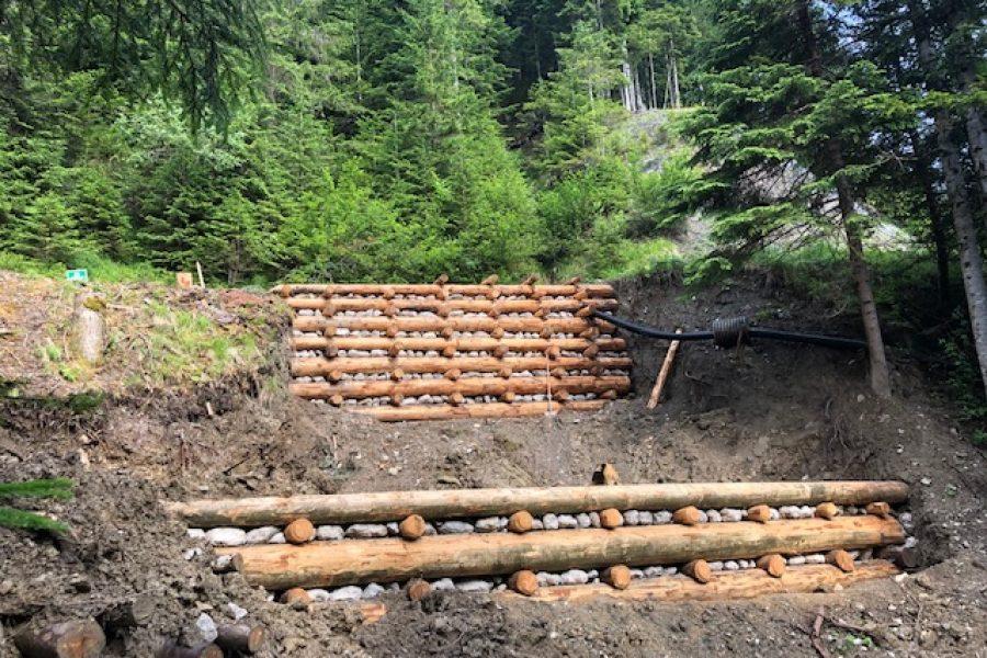 Le sistemazioniidraulico forestali non si fermano